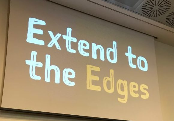 extend to the edges with edge and fog computing