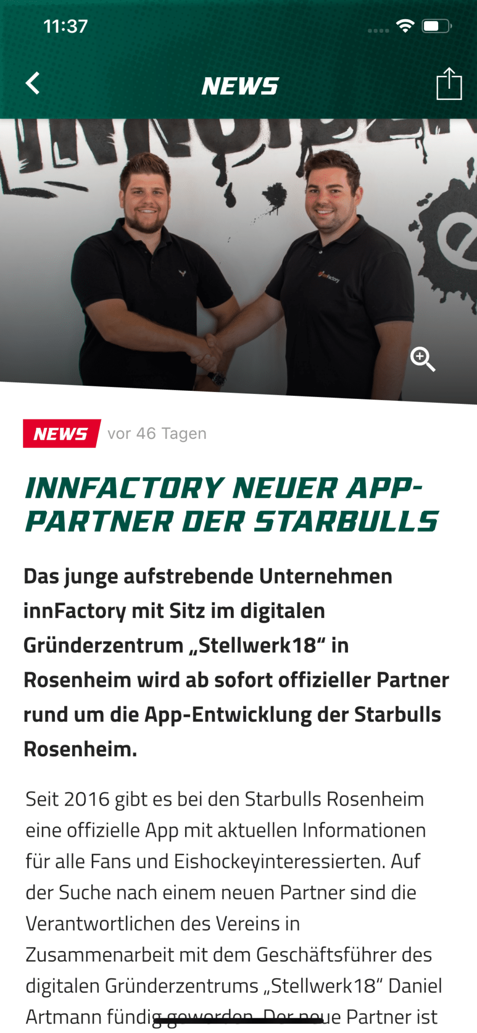 In App News Starbulls