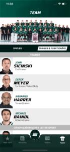 Starbulls Trainer und Funktionäre