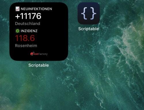 Covid-19 Inzidenzwidget für iOS