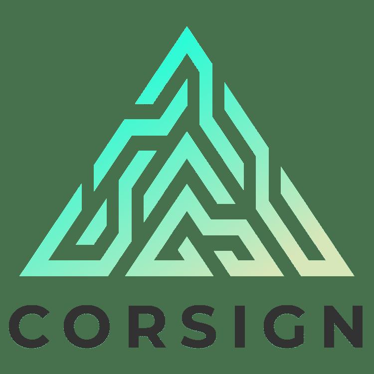 Corsign Logo - Fälschungssichere QR Codes